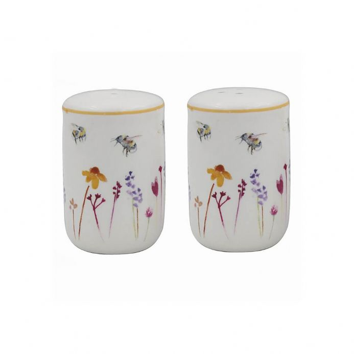 Busy Bees Fine China Salt & Pepper Pots